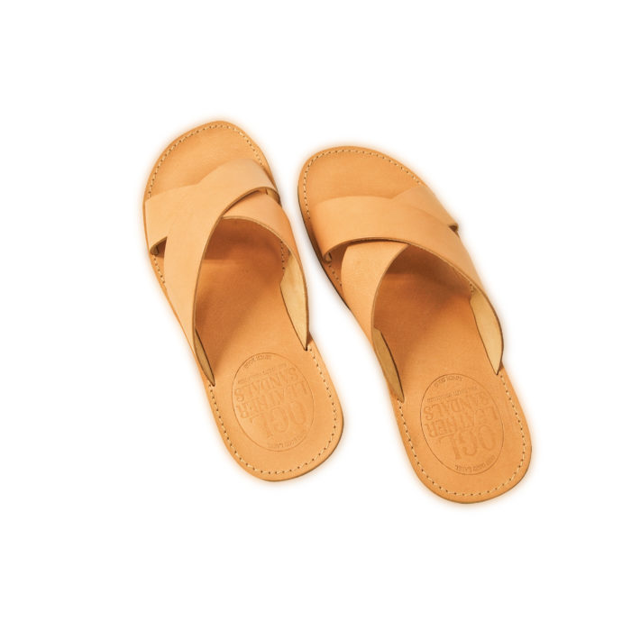 OGL LEATHER SANDALS