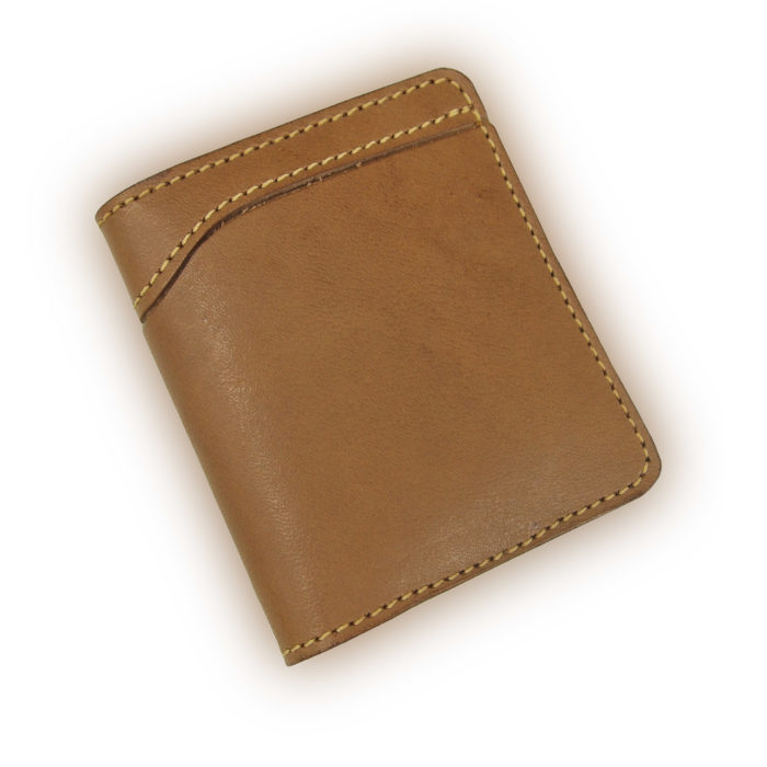 OGL OUTER BI-FOLD LEATHER WALLET