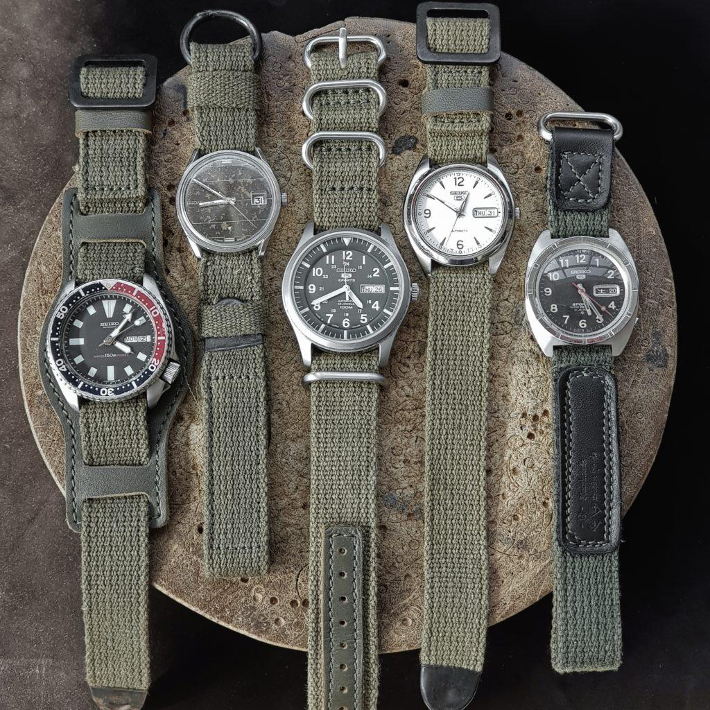 military straps